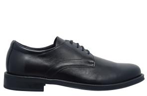 Damiani Ανδρικά Δετά Παπούτσια - ΜΑΥΡΟ