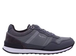 Ανδρικά Sneakers Pepe Jeans - Cross Basic  - ΑΝΘΡΑΚΙ pepe-PMS30670-975 ΑΝΘΡΑΚΙ