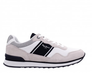 Ανδρικά Sneakers Pepe Jeans - CROSS 4 SAILOR pepe-jeans-pms30702-800 WHITE