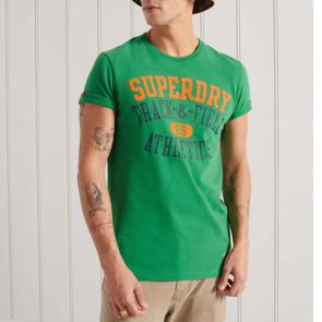 Ανδρική Κοντομάνικη Μπλούζα SUPERDRY - Oregon Green superdry-M1011197A-GAG Oregon Green