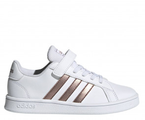 Παιδικά Sneakers Adidas Grand Court C - Λευκό adidas-EF0107