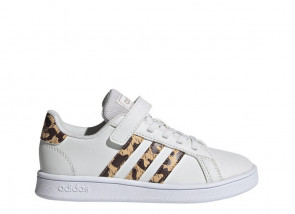 Παιδικά Sneakers Adidas Grand Court C - Λευκό adidas-FZ3516